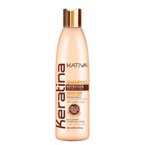 Shampoo con Keratina sin Sal